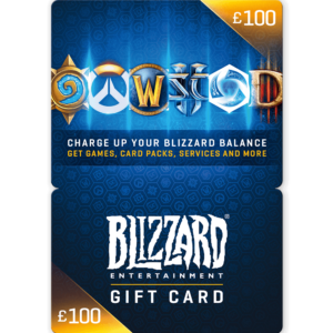 Blizzard Gift Card £100