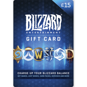 Blizzard Gift Card £15
