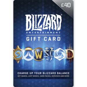 Blizzard Gift Card £40