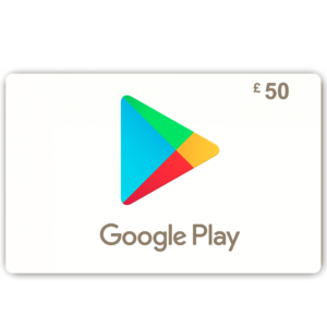 Google Play Giftcard £50