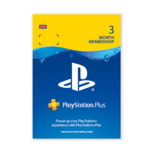Playstation Plus 3 months