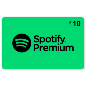 Spotify Premium Giftcard £10